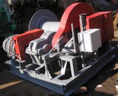 LEBEDKA LM 10-500-OB - Winch Electric