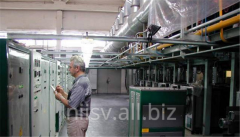 Equipment for the production of continuous