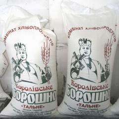 Flour the premium in bags on 50 kg