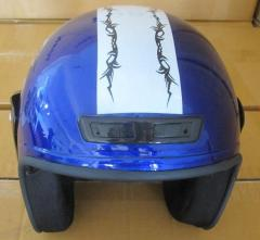 The helmet opened without beard. XZH-03. TM York