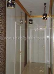Facing of walls glass | Sokolglass