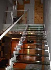 Glass ladder   Sokolglass