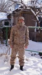 Military suit. Winter pea jackets. The form is officer. Suit hill winter