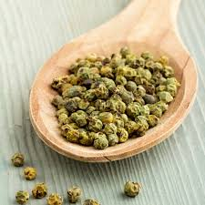 Pepper green peas, Spices and dried vegetables