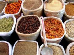 Pepper of kayenskiya ground, Spices and dried