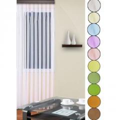 Curtain on SHIFFON band