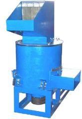 Production of crushers of polymers to order