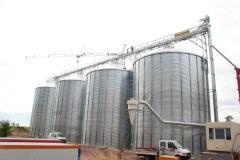 Silo for grain storage