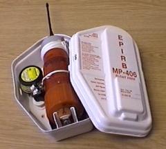 Emergency radio buoy of the KOSPAS-SARSAT MP-406