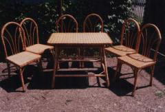 Мебель из лозы. Столы, стулья, табуреты, кресла,