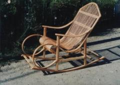 Кресла-качалки плетеные. Любая мебель из лозы под