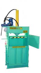 The press for packing of household waste to order