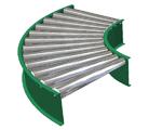 The conveyor the rotary rolgangovy conveyor, live