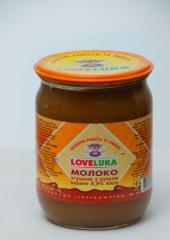 Condensed milk boiled (toffee) TM LOVELUKA