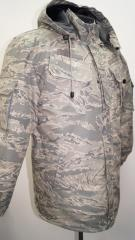 The clothes are protective, working, military, militia, army, special purposes, special under the order and available wholesale and retail