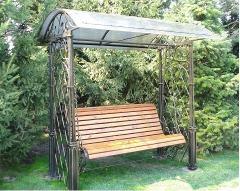 Swing is shod welded garden
