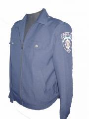 Service dress for men, uniform