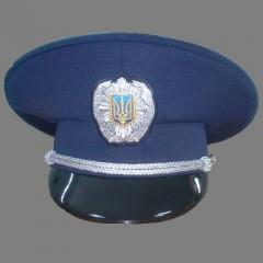 Peak-cap of the Ministry of Internal Affairs, Peak-cap militia, uniform cap, Peak-cap officer