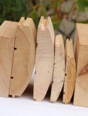 Блок-хаус деревянный сосновый, Украина