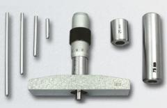 Depth gages are micrometric
