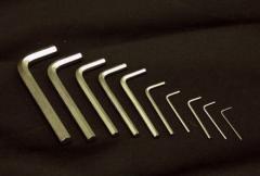 Ключи шестигранные                  шлиц