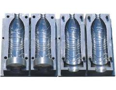 Compression molds for a vyduv of bottles