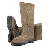 Обувь для зимы, валенки битые на резиновой