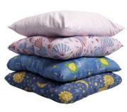 Pillows wadded 80x80, 70x70, 60x60, 50x70, 40x60,