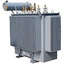 The kVA TM-250 transformer with radiators