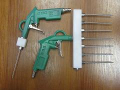 La pistola para shpritsevaniya