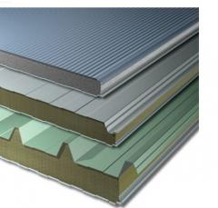 Sandwich panel of production of Inteco