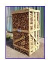 Firewood chipped of strong breeds, Eurofirewood to