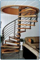 Винтовая лесница (Лестницы винтовые)