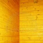 Paneles de pared seca. Imitación de un canto del
