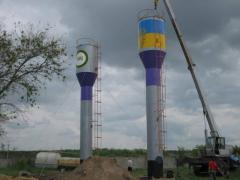 Cheap water towers of Rozhnovsky