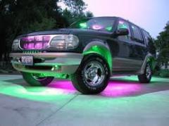 Автотюнинг с помощью подсветки на