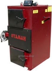 Котел пиролизный твердотопливный OTAMAN-100