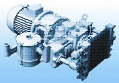 Electric compressor EKVO-0.8 / 9 (JSC