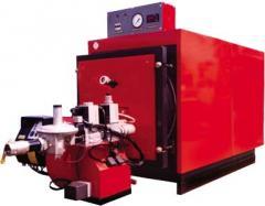Газовые промышленные котлы серия Топаз ( мощность 100 ... 3 500 кВт) для отопления и горячего водоснабжения коммунальных зданий, сельскохозяйственных и промышленных объектов.
