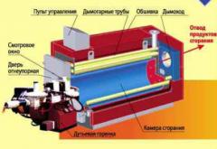 """Газовые промышленные котлы """"Топаз"""" ( мощность 100 ... 3 500 кВт) для отопления и горячего водоснабжения коммунальных зданий, сельскохозяйственных и промышленных объектов."""