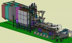Мельница мукомольная вальцовая ХАРЬКОВЧАНКА - 6000 плюс, производительность по зерну 6000 кг/ч
