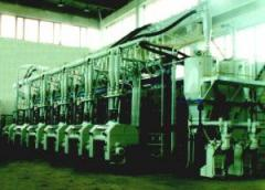 Mill flour-grinding valtsovy