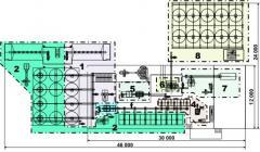 Линия для приготовления комбикормов ЛК-10 для производства рассыпных и гранулированных комбикормов с последующим измельчением