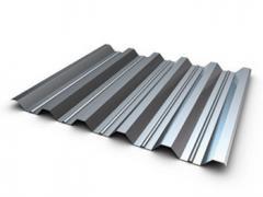 Professional flooring of otsinkovany H45 0,7 mm