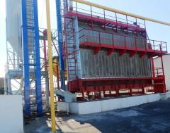 Ukraine grain drying installation t / h for wheat
