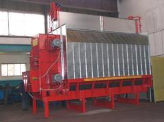 Grain drying installation