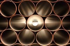 Staleva pipe is seamless holodnodeformovana