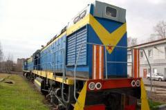 Тепловоз ТГМ - 6, дизель 3А-6Д49 (8ЧН26/26)