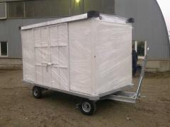 Тележка багажная крытая ТГК-2000-03