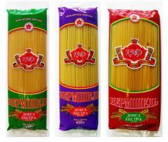 Long noodles (spaghetti)